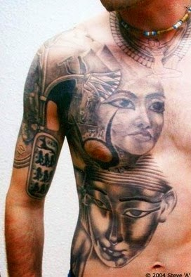 egyptian tattoos for men