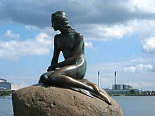 Little Mermaid Statue Copenhagen The Little Mermaid 1989 animatedfilmreviews.blogspot.com
