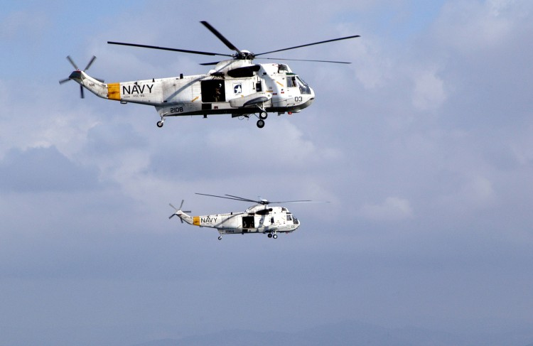 H-3 Sea King All Weather Utility Helicopter