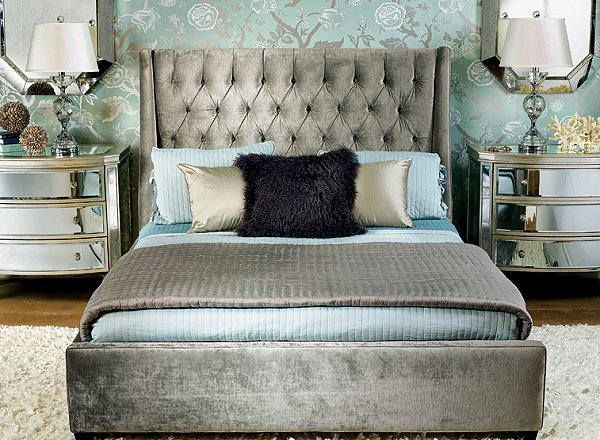 theme decor decorating hollywood glam style bedrooms hollywood glam