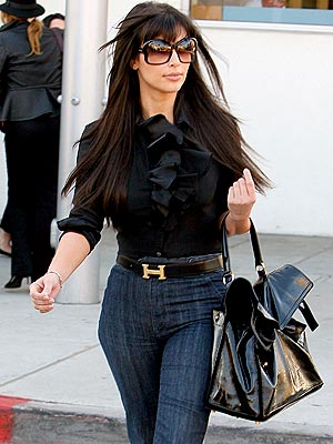 Girls Hot Media Kim Kardashian New Style 2013