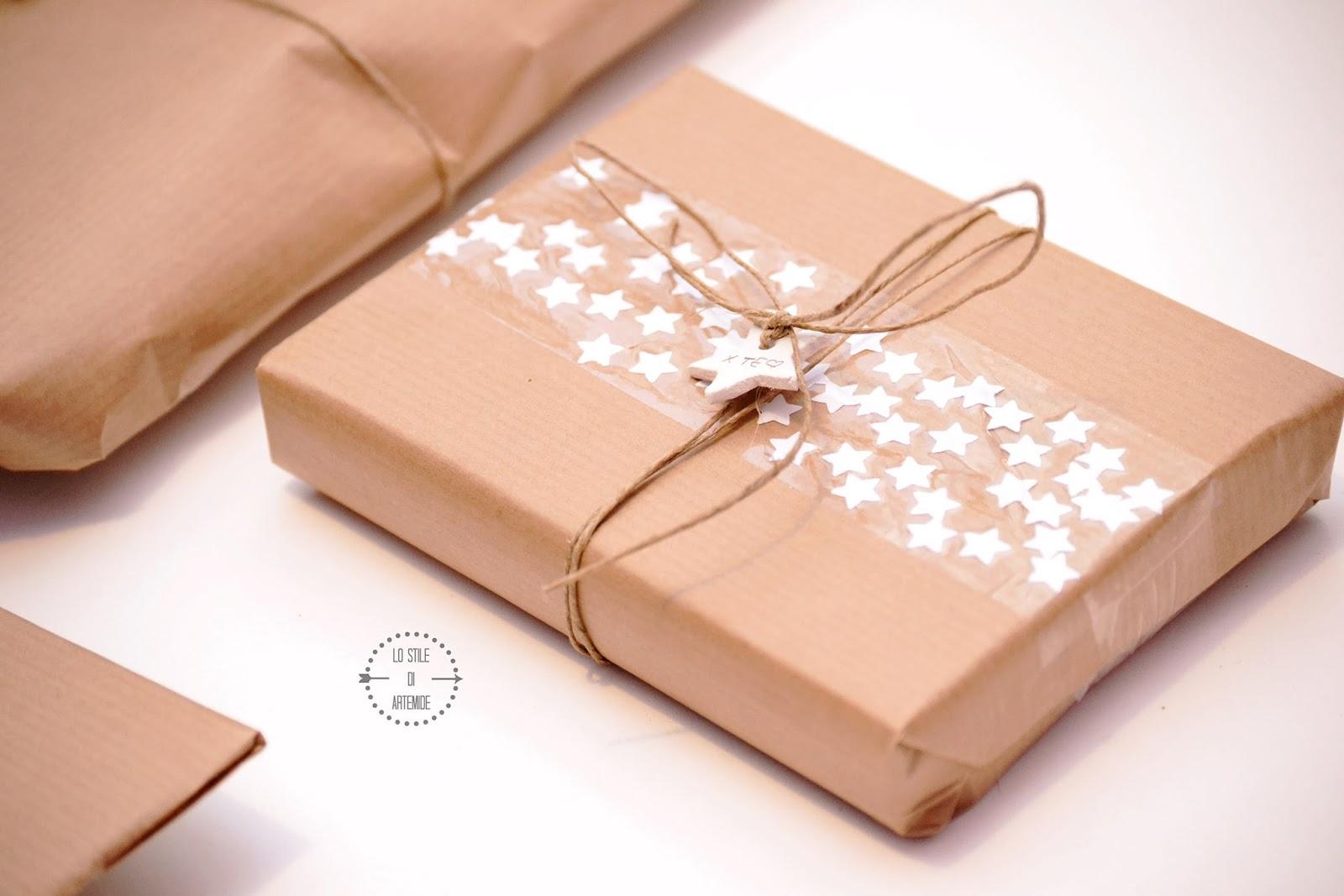 carta regalo fai da te per natale