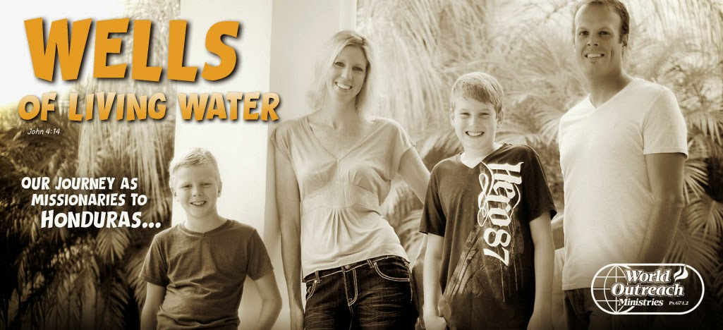 Wells of Living Water: The Wells Family Mission Journey