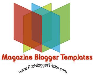 Magazine Premium Blogger Template