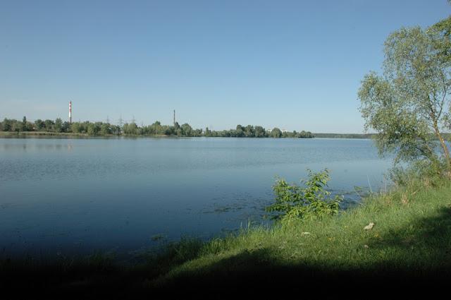 Фото Виталия Бабенко: Киев, озеро Алмазное