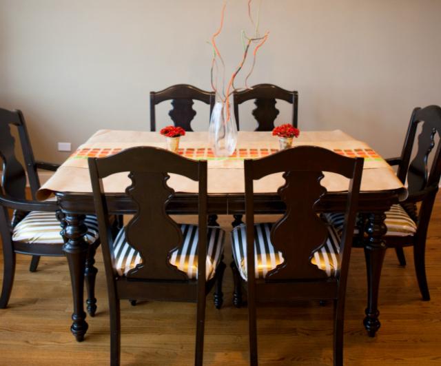 revamped magazine rack and kids table design improvised