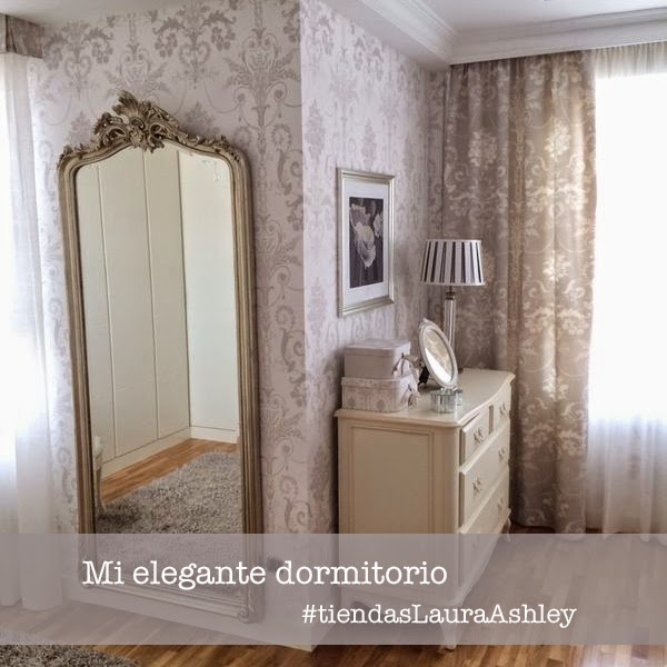 Dormitorio Laura Ashley Josette gris