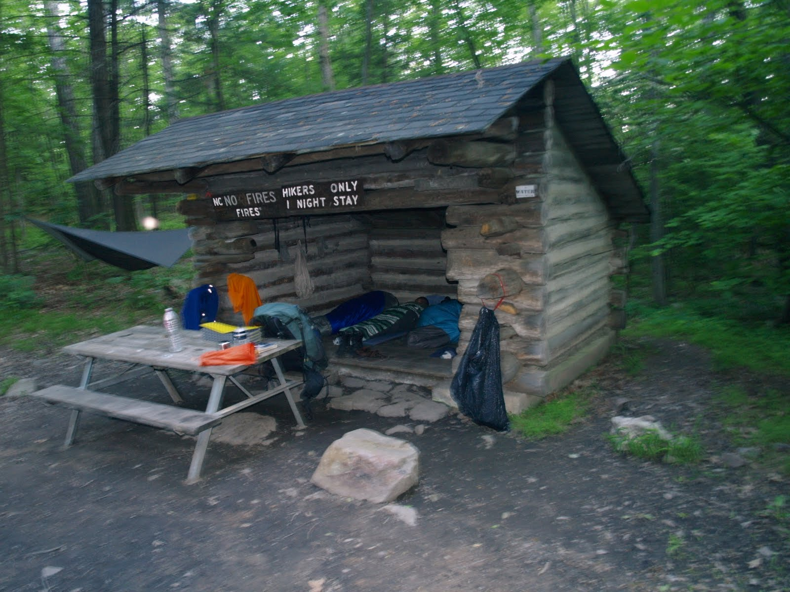 Can not deer lick shelter on appalachian trail congratulate, remarkable
