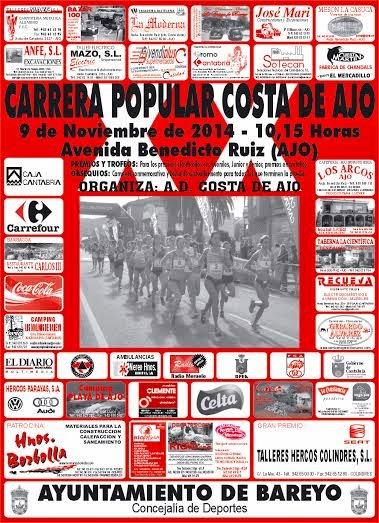 XX CARRERA POPULAR COSTA DE AJO