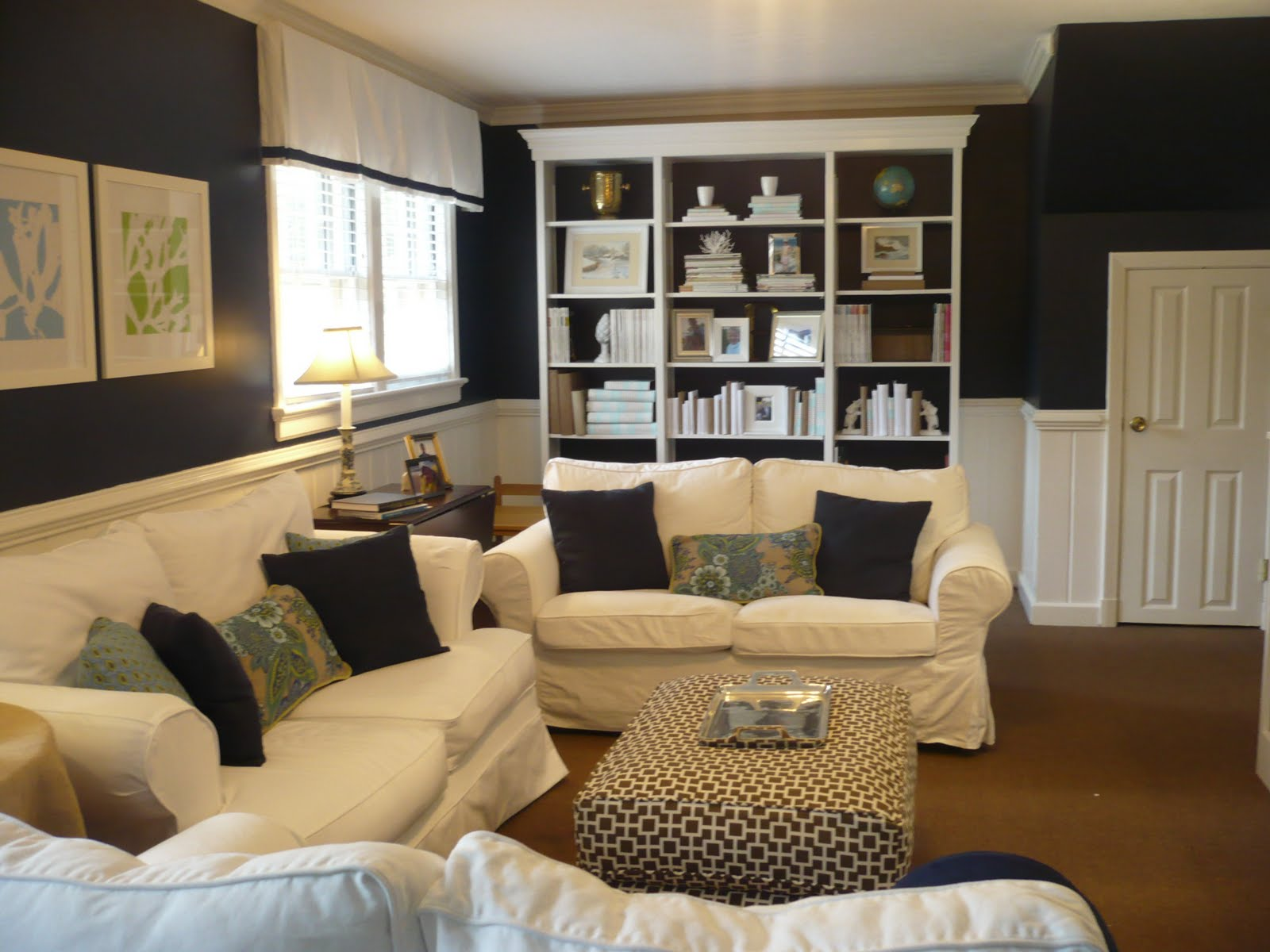 Westhampton diy family room makeover part 4 accesories for Makeover living room ideas