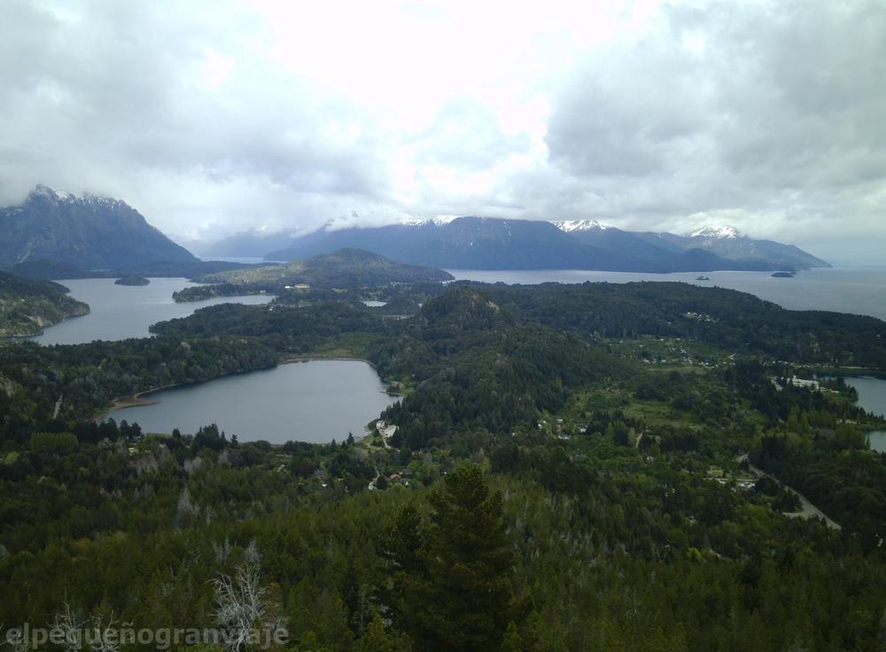 Bariloche, Cerro Campanario, Nahuel Huapi, mirador