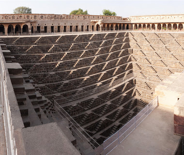 escadaria Chand Baori Abhaneri India