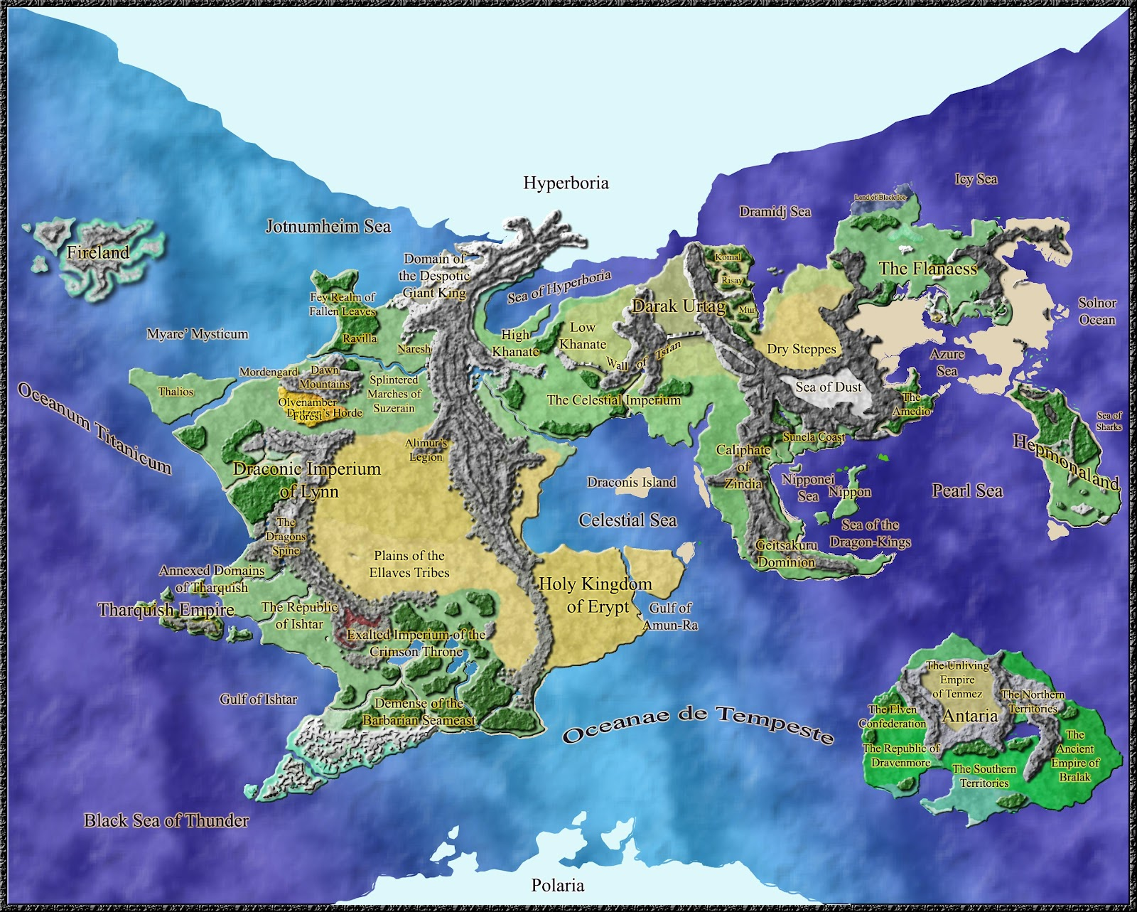 and the rest of the map