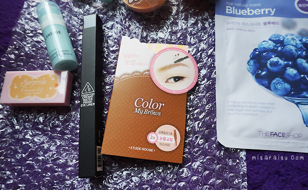 honest skin korean makeup haul