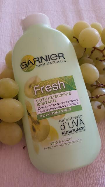Latte Detergente all'Uva Linea Fresh Garnier