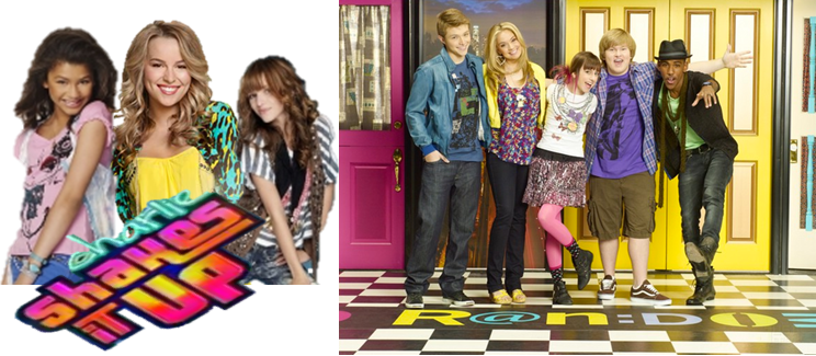 Disney Channel Shake it up Coloring Pages