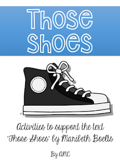https://www.teacherspayteachers.com/Product/Those-Shoes-Activities-to-Support-the-Text-1998353
