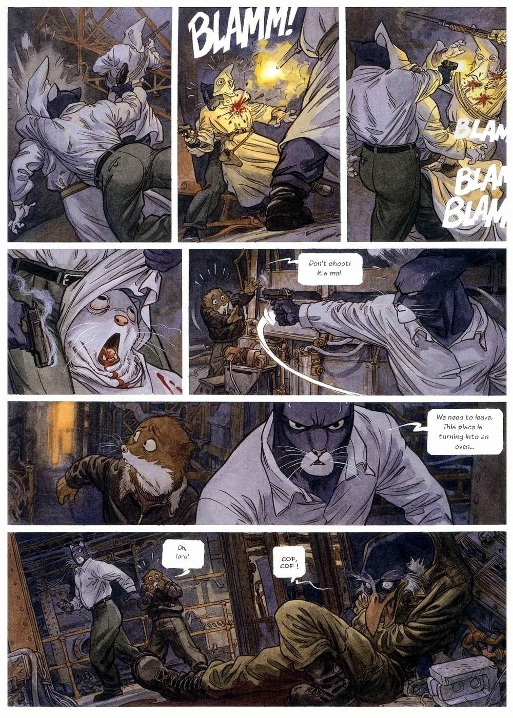blacksad vol 2 arctic nation viewcomic reading comics online for free 2018. Black Bedroom Furniture Sets. Home Design Ideas