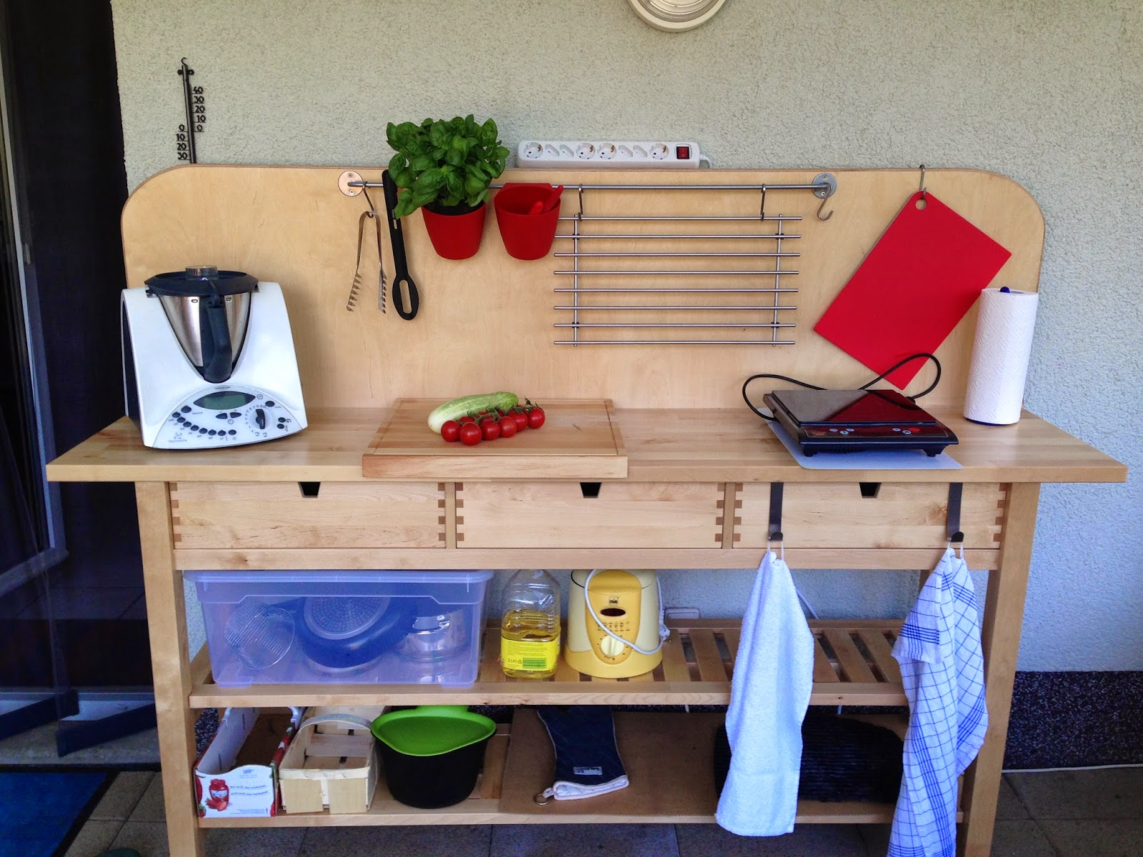 Sanni\'s Sockenkiste: Meine Sommerküche