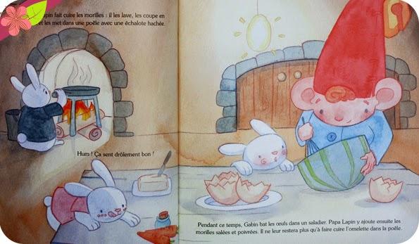 """""""Un repas chez les lapins de Pâques"""" de Carine Foulon et Elise Catros"""