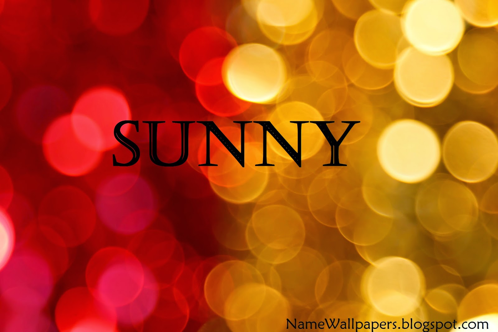 Sunny name love wallpapers