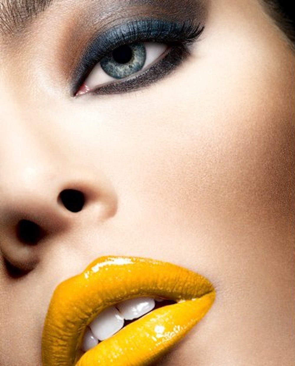 Yellow Lipstick Tumblr StyleJustEasier: Beaut...