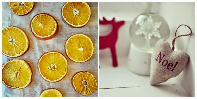 Homemade festive crafts