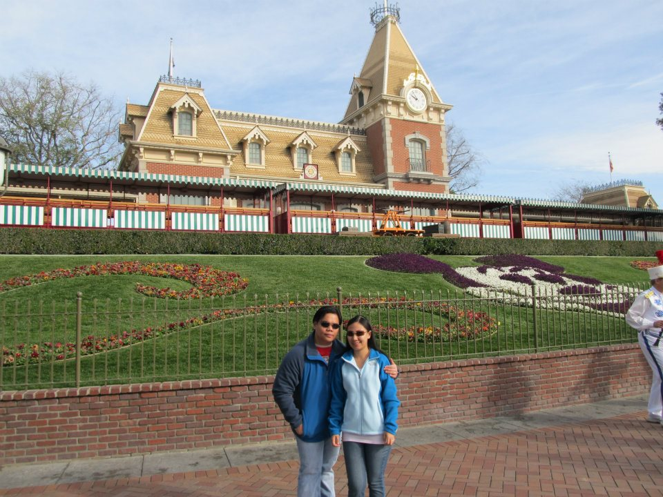 Disneyland California Railroad Station