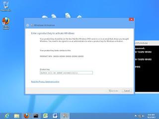 backup activation windows 8
