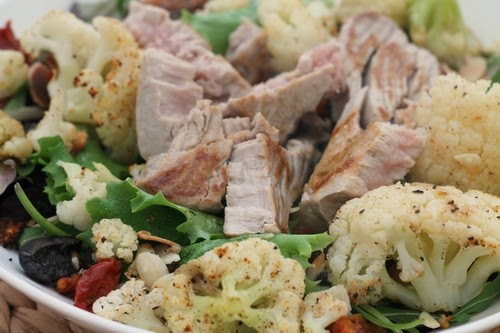 The Mrs Makes: Paleo Meals - Tuna and Roasted Cauliflower Salad