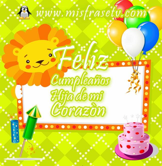 Hijita feliz cumpleaños, eres lo más importante de mi vida y te amo con todo mi corazón