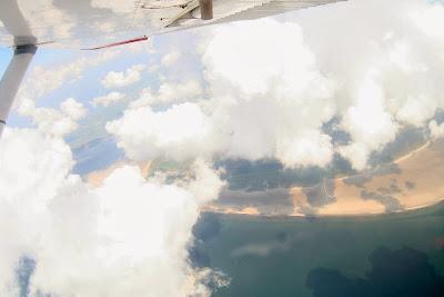 St. Peter-Ording: Fotos eines Tandem-Fallschirmabsprunges über dem ordinger Strand 9