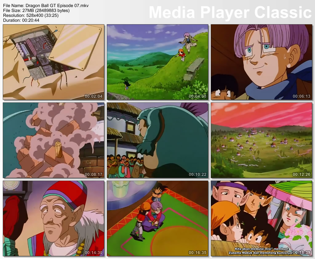 Download Film / Anime Dragon Ball GT Episode 07 Bahasa Indonesia