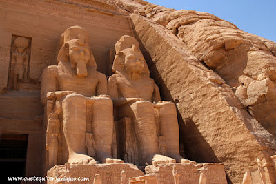 Abu Simbel - Viaje a Egipto