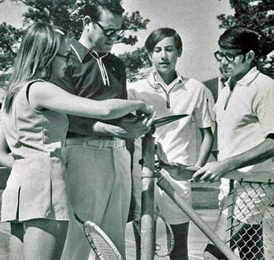 bob melonosky playing tennis, funny tennis