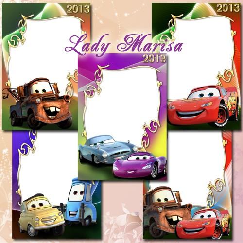 Bordes infantiles de cars - Imagui