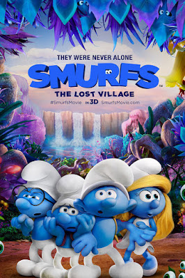 Smurfs The Lost Village 2017 Dual Audio WEB-DL 480p 300Mb ESub