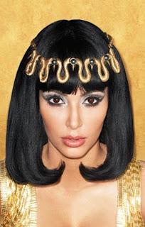 Kim Kardashian as Cleopatra VII