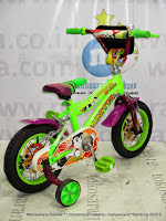 12 Inch United Power Junior Kids Bike Green