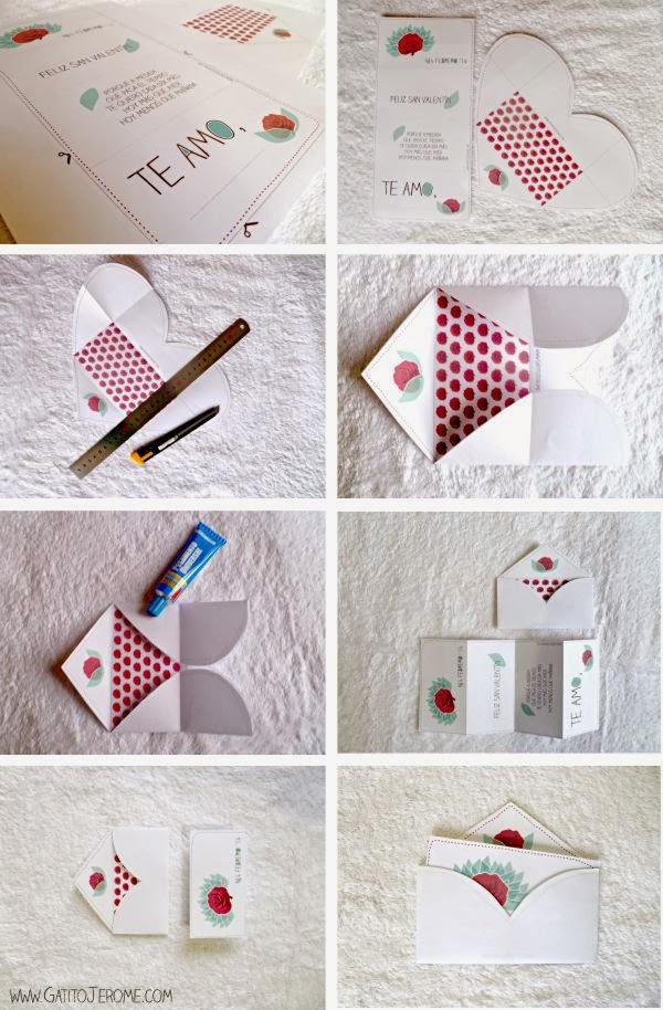 como hacer tarjetas de san valentin