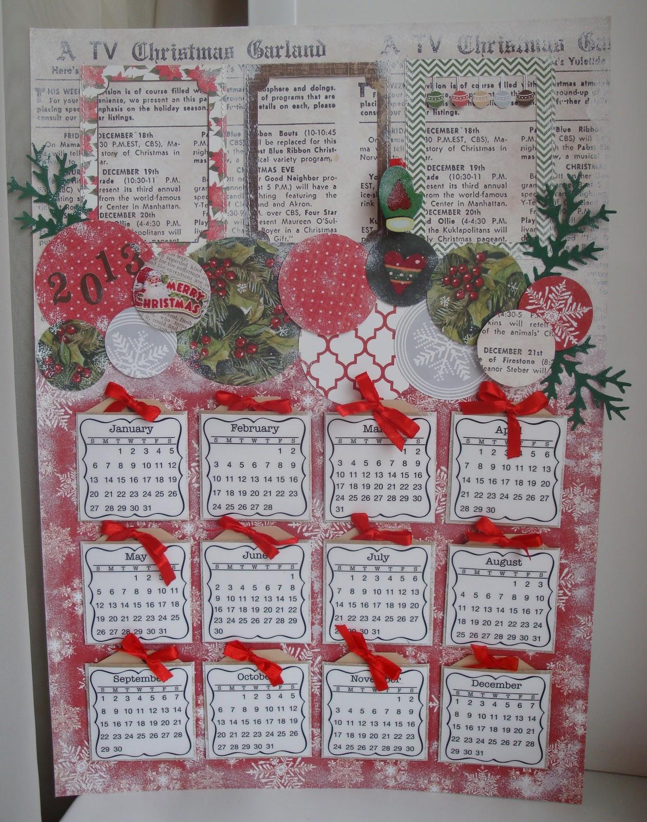 Как сделать настенный календарь онлайн на 2017 года