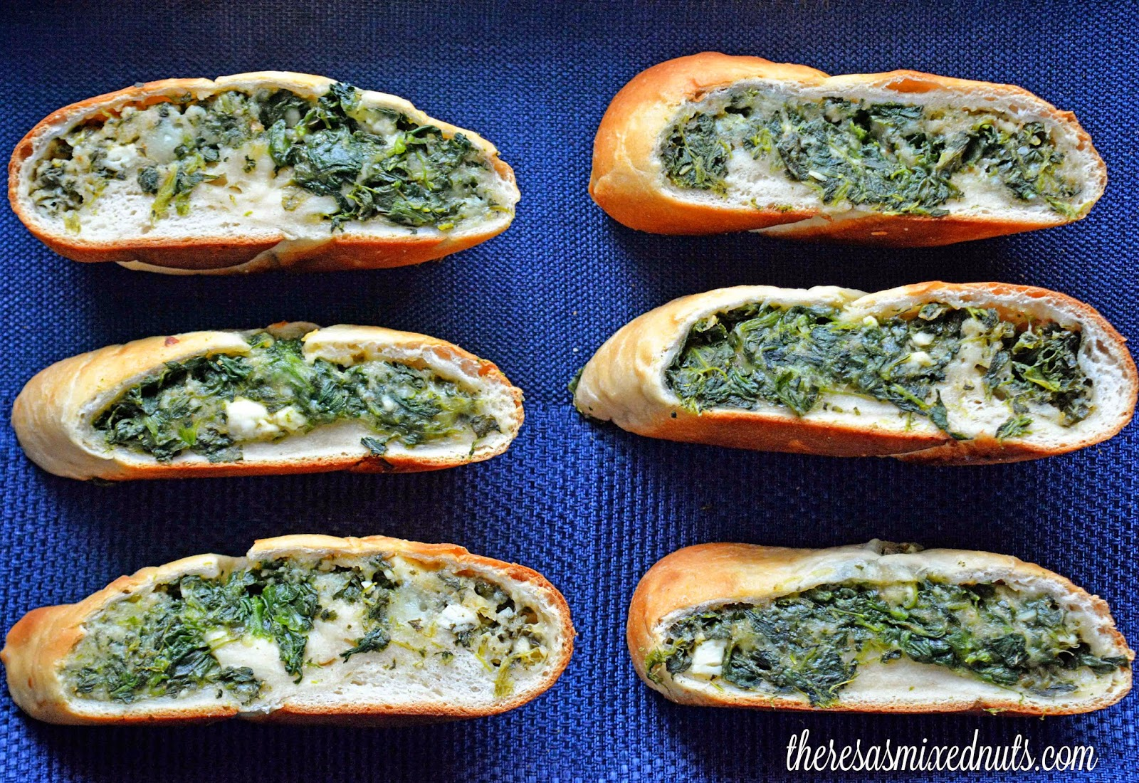 Spinach Cheese Bread