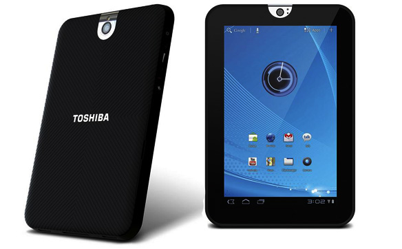 Toshiba introduces 7-inch 'Thrive' Honeycomb tablet, Toshiba Launches Thrive 7 Tablet, 