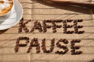 Kaffeepause, Kaffee, Pause, Tagung