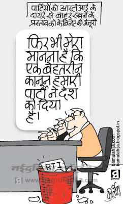rti cartoon, indian political cartoon, corruption cartoon, corruption in india, congress cartoon, upa government