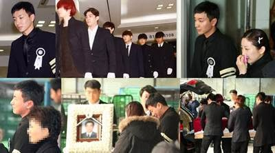 Foto Pemakaman Keluarga Leeteuk