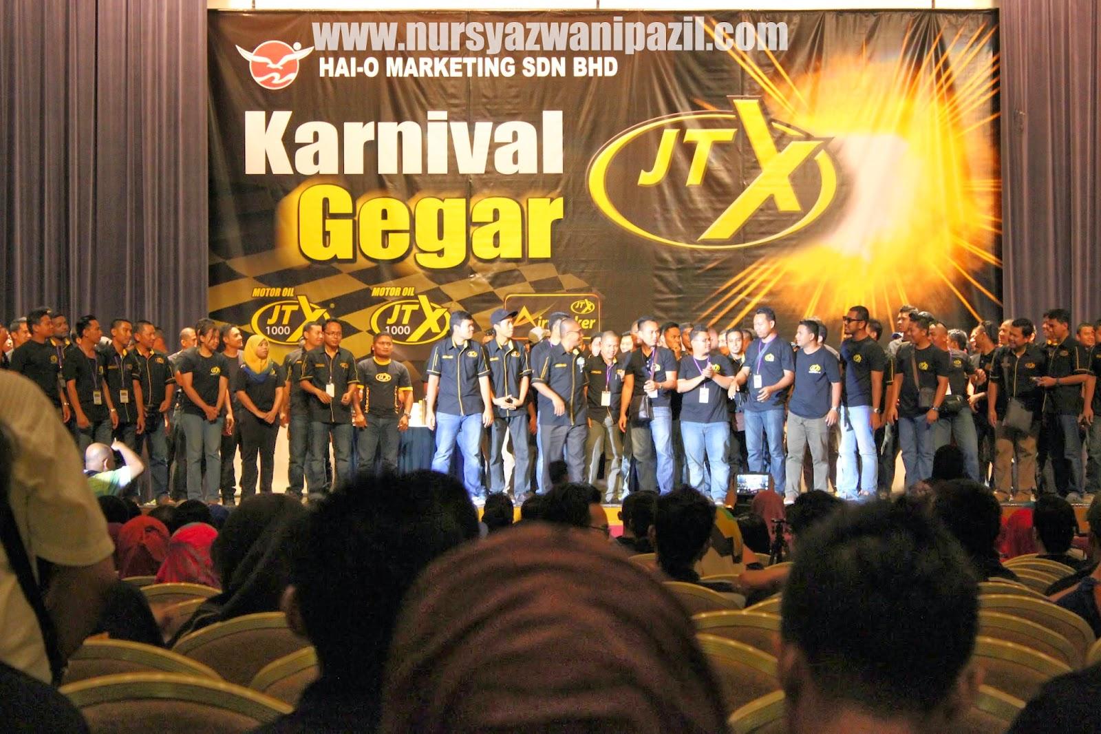 Karnival Gegar JTX Bergegar ke