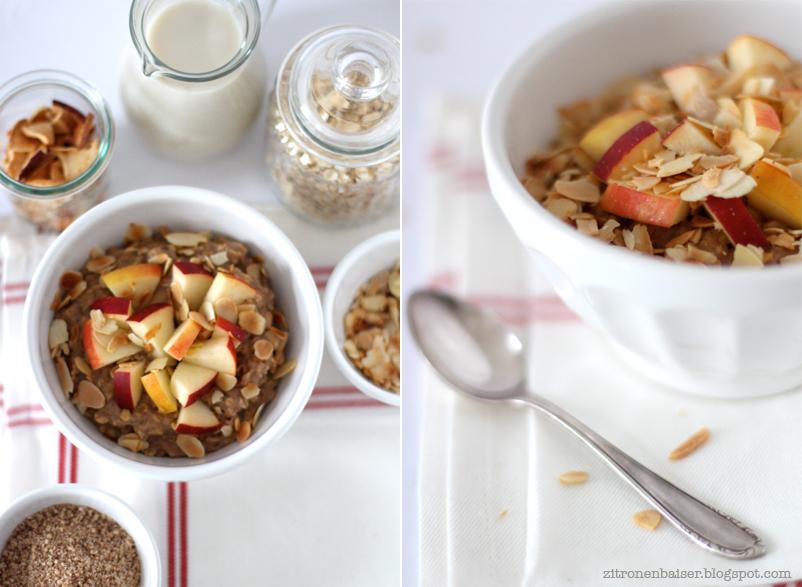 Zitronenbaiser Foodblog Porridge Rezept