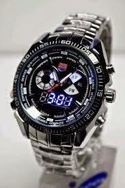 jam tangan keren sekali warna hitam