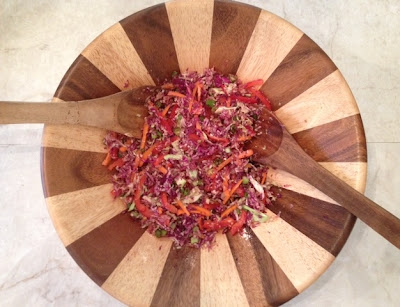 summer asian slaw recipe